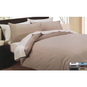 Pintuck Doona King Cover Set by Phase 2