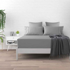 Platinum 500TC Plain Dyed Fitted Sheet