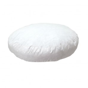 Poly Cushion Insert Round Gusseted 40cm x 40cm x 5cm by Escape to Paradise