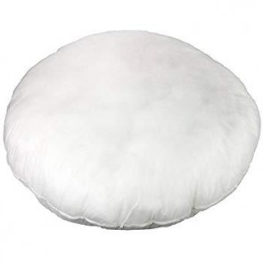 Poly Cushion Insert Round 40cm x 40cm by Escape to Paradise