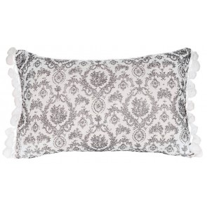 Cameo Pompom Cushion Set by Lullaby Linen