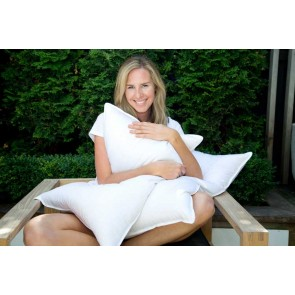 Premium 80/20 Goose Down Pillow by MM Linen