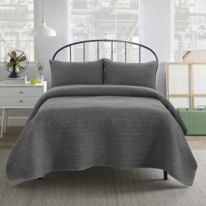 Premium Quilted Sandwashed Coverlet