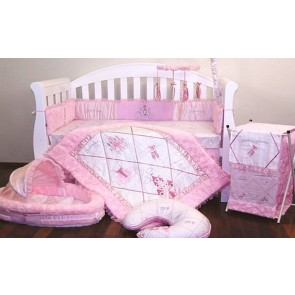 Ballerina Princess Baby Bedding Set by Amani bebe