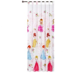 Princess Girl Curtain by Happy Kids