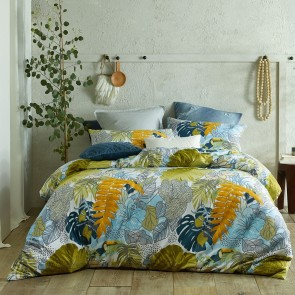 Plantation Printed Quilt Cover Set by Accessorize