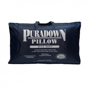 Duck 80% Down 20% Feather Standard Pillow by Puradown