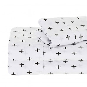250 Thread Count Egyptian Cotton Printed Sheet Set by Ramesses
