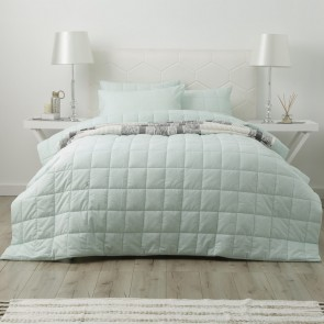 Paradis Washed Chambray Queen/King Bed Cover set by Park Avenue