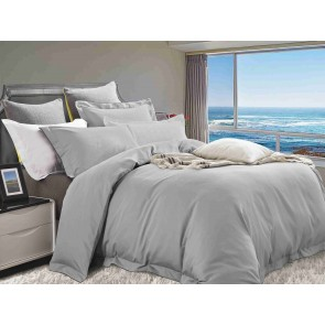 1200 Thread Count Cotton Rich King Quilt Cover Set by Kingtex