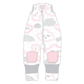 Warmies No Arms Cotton 12-24m 2.5 Tog Clouds Pink by Baby Studio