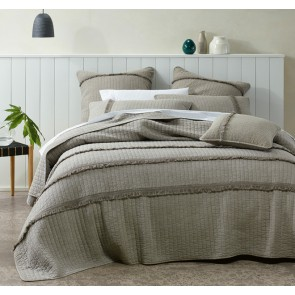 Raina Super King Coverlet Set by Bianca