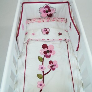 Raspberry Garden 3 pcs Cradle Set by Amani Bebe