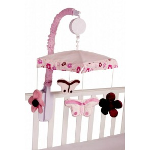 Raspberry Garden Cot Mobile by Amani Bebe