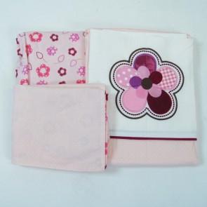 Raspberry Garden Cot Sheet Set by Amani Bebe