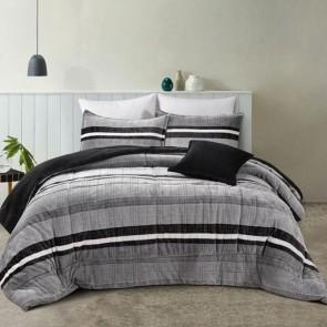 Ravenna Coal Comforter by Bianca