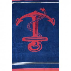 100% Cotton Jacquard Velor Heavy Beach Towel by Renee Taylor