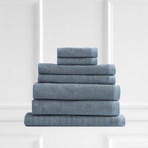 Resort 650 GSM Textured Face Towels by Renee Taylor