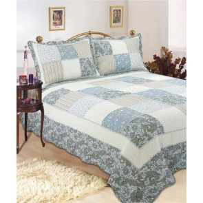 Rhapsody Floral Bedspread by Classic Quilts