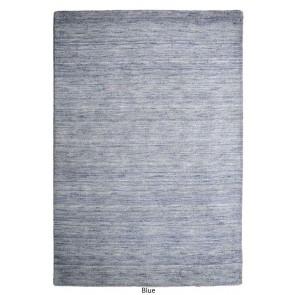 Roma Blue Twisted Wool Rug by Rug Republic