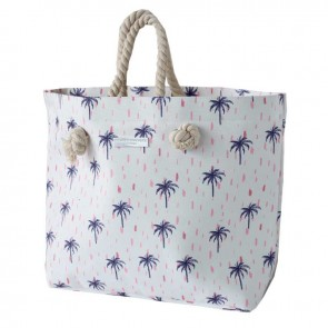 Rope Handle Beach Bag Sahara Palms by Escape To Paradise