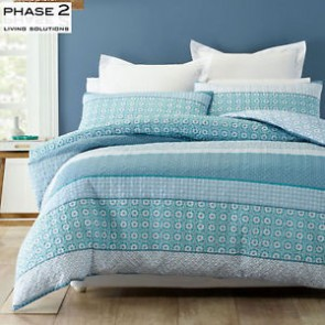 Trebah Queen Quilt Cover Set by Phase 2