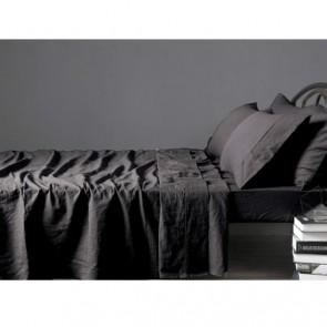 100% Linen Single Sheet Set by Vintage Design