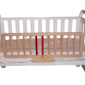 Safe T Timber Bed Guard by Babyhood