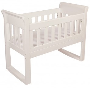 Sandton Sleigh Cradle & Rocking Seat by Babyhood