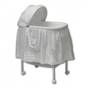 Satin Ribbon Bassinet by Babyhood