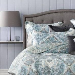 Braidwood Blue Bedspread by Bianca