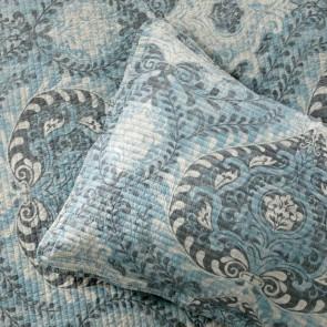 Braidwood Blue Single Bedspread by Bianca