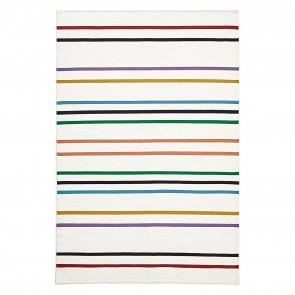 Scandi Geo Stripe Wool Rug by Rug Culture