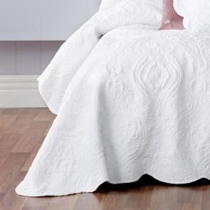 Cordelia White Single Bedspread Set by Bianca