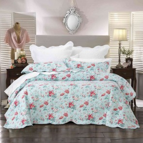 Serenity Bedspread Set Blue by Bianca
