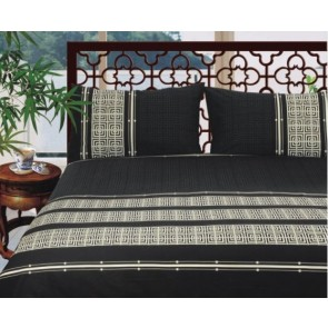 250 Thread Count Printed Quilt Cover Set by Kingtex