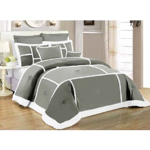 7 Piece Soho Sherpa Comforter Set by Kingtex