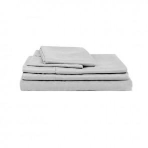 Silver Natural Home 100% Bamboo Sheet Set