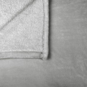 Silver Lucia Blankets by Ardor Boudoir