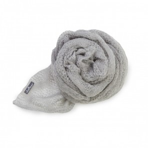 Silver Kid Mohair Wrap by St Albans