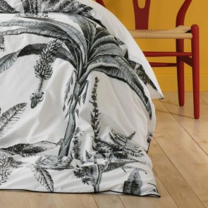 Leopard Grey Super King Quilt Cover Set by Bianca