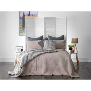 Smithfield Taupe Double Bedspread Set by Bianca