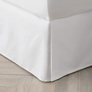 Organic Cotton 300TC Percale Bed Skirt by Sheridan