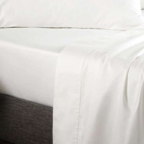 White 400TC Soft Sateen Fitted Sheet by Sheridan