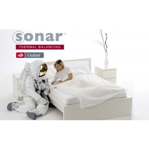 Sonar Thermal Balancing Mattress Topper with Outlast by Bambury