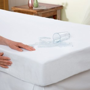 Spunbond Anti Allergy Queen Mattress Protector by Essentially Home Living
