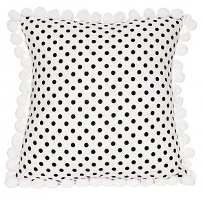 Cameo Square Cushion by Lullaby Linen