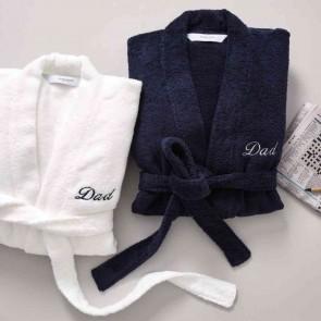 Quick Dry Luxury Personalised Dad Robe