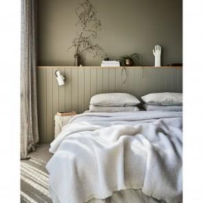 Sandy Alpaca Throw Blanket by St Albans