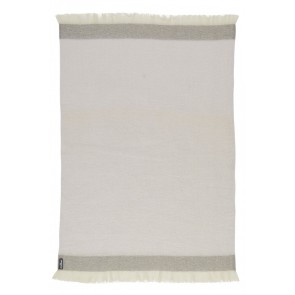 Mineral Mohair Throw Rug by St Albans